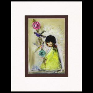 DeGrazia - Bird Pole 8x10 Matte Print