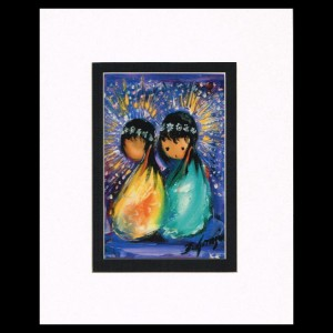 DeGrazia - Holiday Celebration 8x10 Matte Print