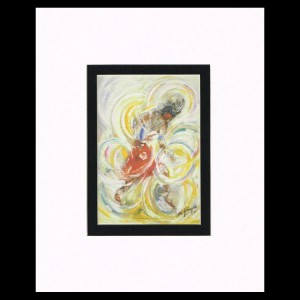 DeGrazia - Hoop Dancer 8x10 Matte Print