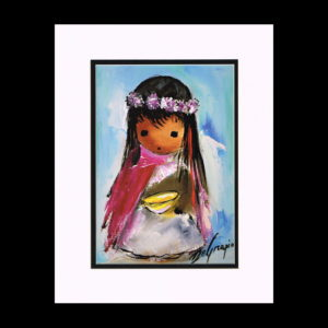 DeGrazia 11x14 Matte Print - empty-bowl-1975