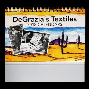 2018 DeGrazia Desk Calendar