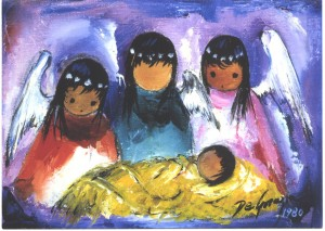 Assorted DeGrazia Christmas Cards