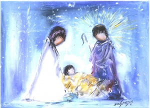 DeGrazia Nativity Christmas Card